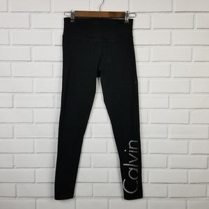 Calvin Klein Performance Black Yoga Pants SP